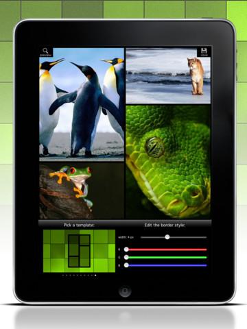 Mosaic Wallpaper Designer iPad