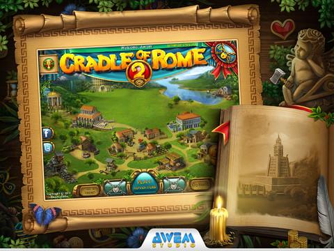Cradle of Rome 2 HD voor de iPad