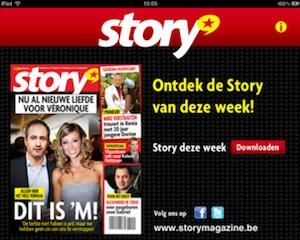 story magazine ipad
