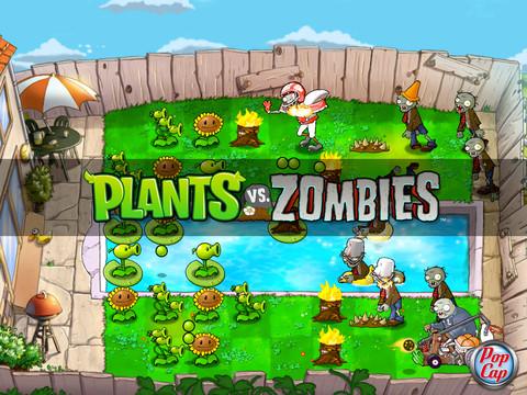 Plants vs Zombies iPad