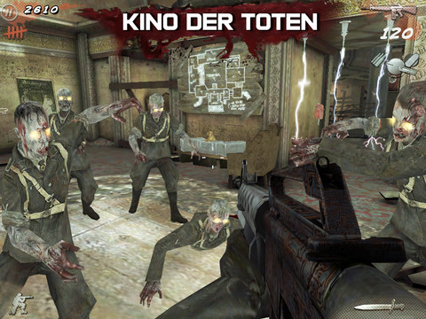 COD Black Ops Zombies iPad schieten