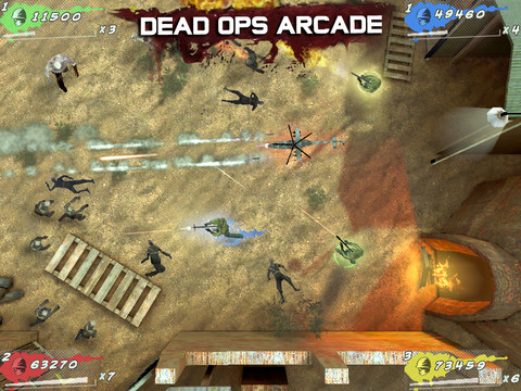 COD Black Ops Zombies Dead-Ops Arcade