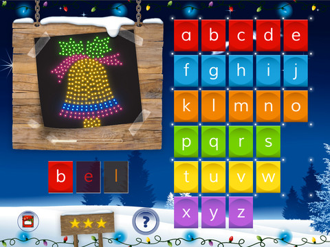 Super Spelling Winter NL iPad Bel