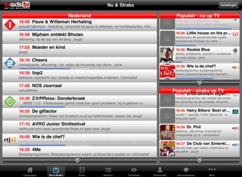 TVGids.tv Pro iPad nu en straks