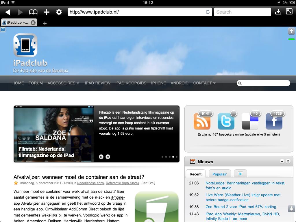 Atomic Web Browser iPad