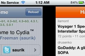 Zephyr: multitasking gebaren op de iPhone geïnspireerd door MeeGo