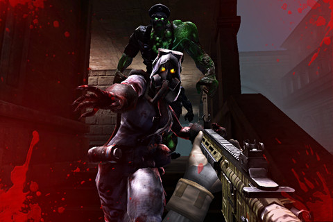 GU VR Combat Arms Zombies iPhone iPod touch