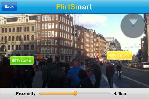 FlirtSmart iPhone iPod touch dating app
