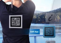 BrowsAR QR-code augmented reality reader