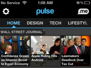 Pulse News 2.7 RSS reader voor iPhone iPod touch