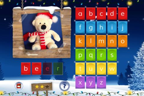 Kerstapps Super Spelling Winter NL iPhone