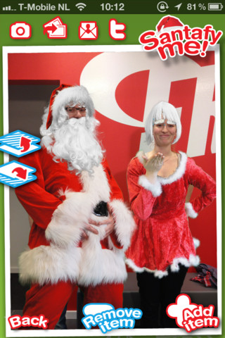 Kerstapps Santafy Me Look Like Santa Claus