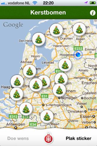 Kerstapps Kerstwens iPhone app