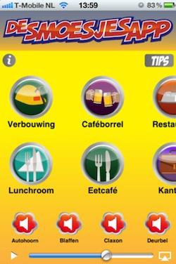 smoesjes iphone app