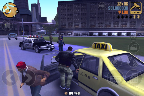 GU VR Grand Theft Auto III GvdW iPhone iPod touch