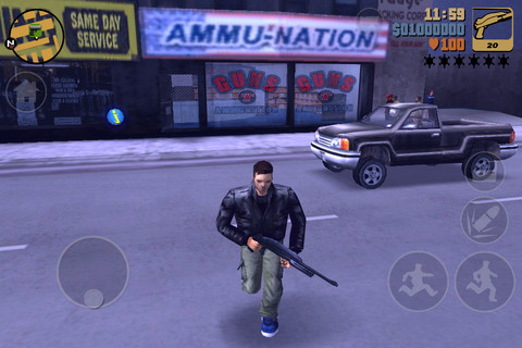 GU VR Grand Theft Auto 3 screenshot iPhone