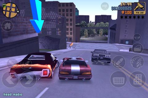 Grand Theft Auto III iPad