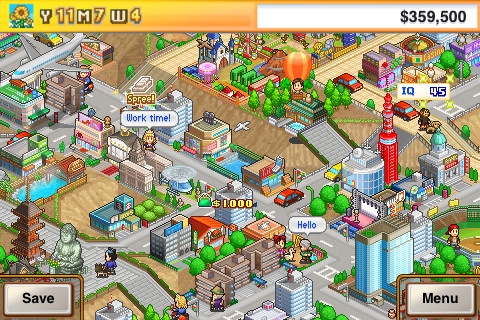 GU DO Venture Towns Kairosoft iPhone iPod touch