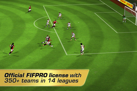 GU DO Real Football 2012 iPhone screenshot