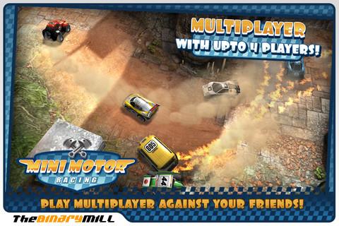 GU WO Mini Motor Racing iPhone iPod touch