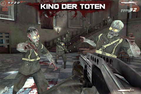 Call of Duty Black Ops Zombies Kino der Toten iPhone iPod touch