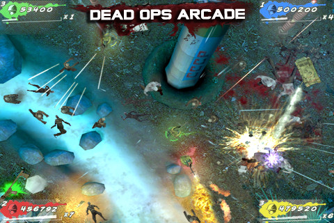 Call of Duty Dead Ops Arcade iPhone iPod touch iPad