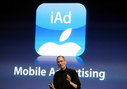 iAds Steve Jobs