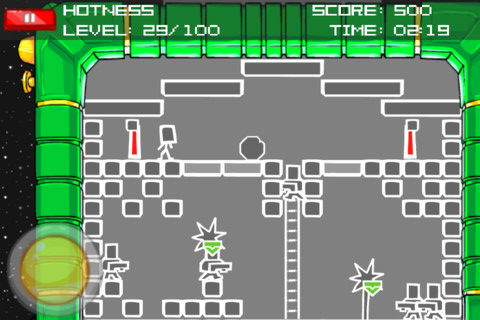 Alien Hominid PDA Games iPhone iPod touch
