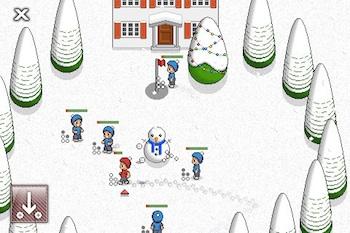 snow fight iphone