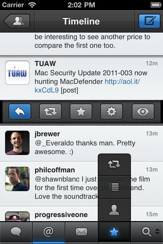 Twitter-alternatieven voor de iPhone Tweetbot screenshot