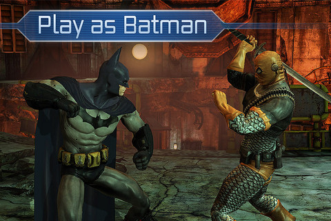 GU WO Batman Arkham City Lockdown iPhone iPod touch iPad