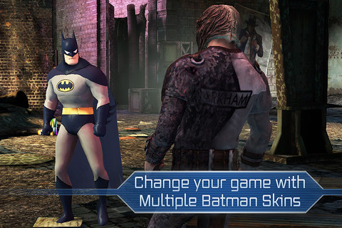 GU WO Batman Infinity Blade iPhone header