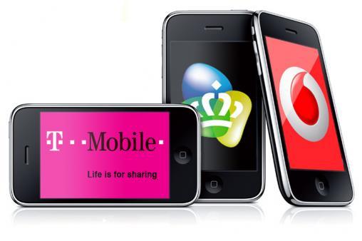 Vodafone KPN T-Mobile