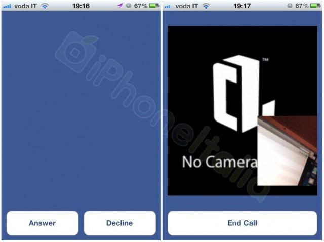 Videobellen Facebook Messenger