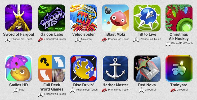 12 Indie Apps for Christmas