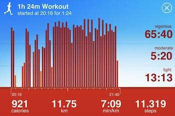 jawbone workout