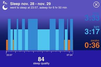 jawbone slaap