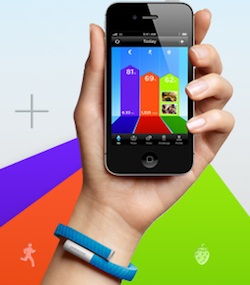 jawbone up hand app
