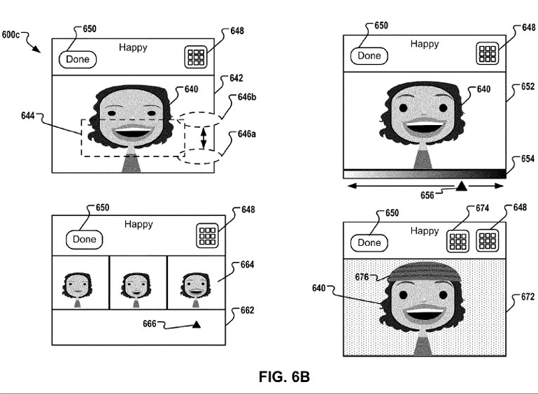 Game Center avatars patent