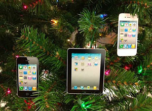 iPhone-iPad-kerstversiering