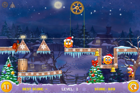 Kerstgames Cover Orange iPhone iPod touch