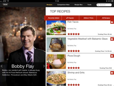 Food Network Bobby Flay gerechten