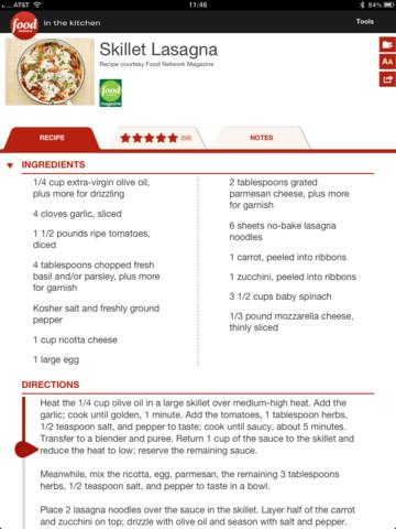 Food Network in the Kitchen kookpagina