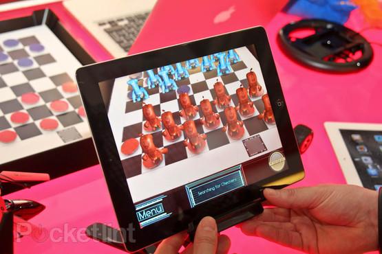 CheckARz dammen iPad