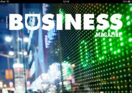 Business Magazine iPad header