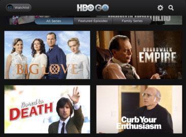 HBO GO iPad