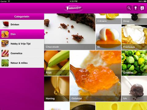 Vlekkenwijzer HD iPad