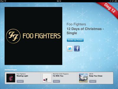 12 Dagen Cadeaus Foo Fighters