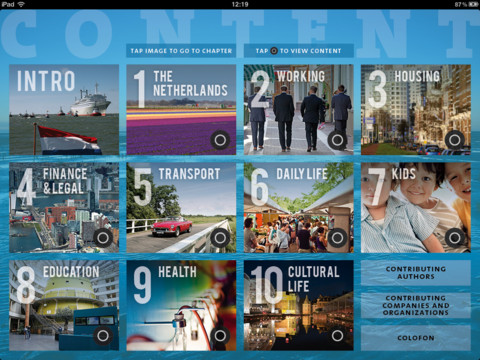 The Holland Handbook for iPad Holland Guide