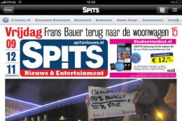 Spits krant op de iPad